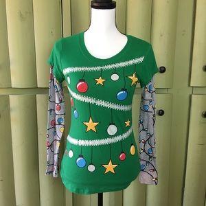 Long sleeve Christmas T-shirt CUTE!! Be prepared!